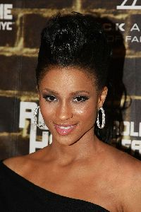 Ciara : Ciara glamour wallpaper with a new hair style wrapped up