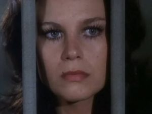 Lana Wood : face photo from from mission impossible movie filmed in 1972