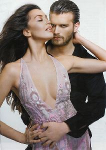 Kivanc Tatlitug : together with fiance Azar Akin
