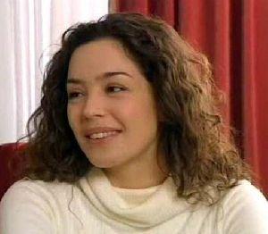 Azra Akin stills from a turkish drama series