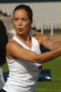 Azra Akin the athlete