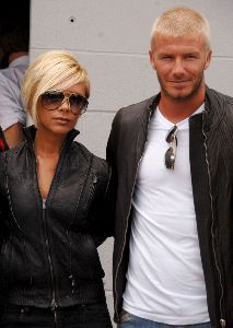VICTORIA BECKHAM : newest appearance with David at the british formula 1 Grand Prix