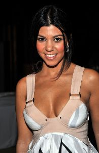 Kourtney Kardashian : arrives at -Rock The Vote- Hosted by Christina Aguilera held at the Esquire House Hollywood Hills on September 25, 2008