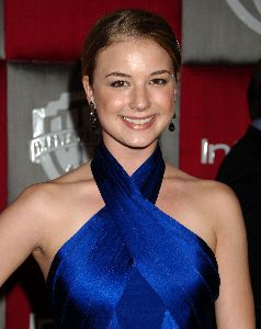 Emily VanCamp : at the Golden Globes Awards after-party on January 11th 2009