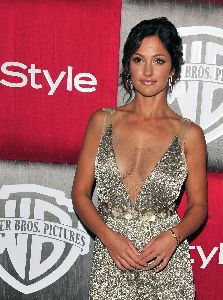 Minka Kelly at the Golden Globes Awards after-party on January 11th 2009