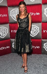 Adrianne Palicki arrives at the 66th Annual Golden Globe Awards After Party on Jan 11th, 2009
