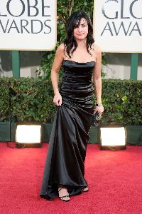 Pamela Adlon  on the red carpet of the 66th Annual Golden Globe Awards held at the Beverly Hilton Hotel on January 11, 2009 in Beverly Hills, California