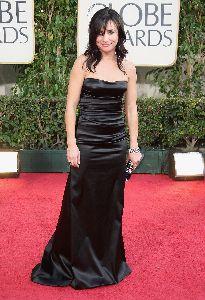 Pamela Adlon : on the red carpet pf the 66th Annual Golden Globe Awards