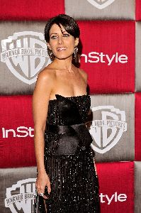 Lisa Edelstein at the 66th Annual Golden Globe Awards - Official InStyle Magazine After Party on Jan 11, 2009
