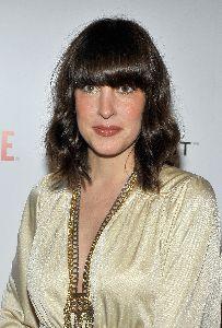 Lindsay Sloane arrives at the Showtime Golden Globes after-party 2009