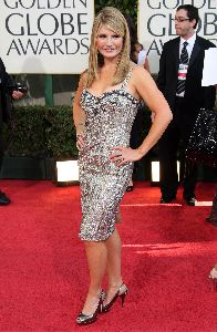 Dayna Devon : on the red carpet of the 66th Annual Golden Globe Awards held at the Beverly Hilton Hotel on January 11, 2009 in Beverly Hills, California