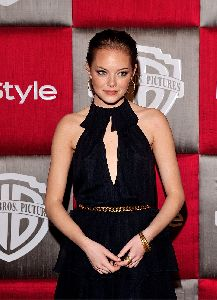 Emma Stone at the InStyle Magazine Golden Globe Awards after-party 2009