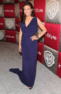 Brittany Snow at the InStyle Magazine Golden Globe Awards after-party 2009