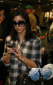 Kourtney Kardashian arriving in Tampa on 28th January 2009