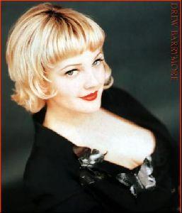 Actress drew barrymore : 66