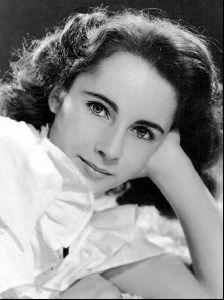 Actress liz taylor : 11