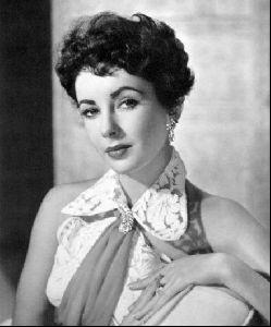 Actress liz taylor : 25