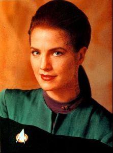 Actress terry farrell : 1