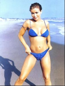 Female model carmen electra : 86