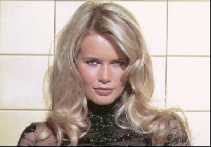Female model claudia schiffer : 72
