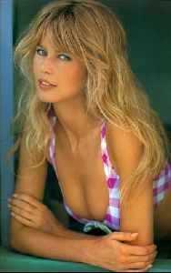 Female model claudia schiffer : 9
