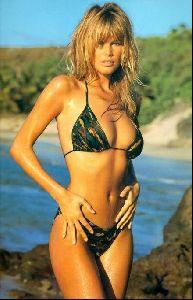 Female model claudia schiffer : 97