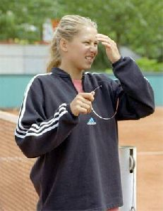 female athlete anna kournikova : ak22
