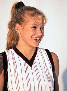 female athlete anna kournikova : ak9