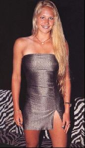female athlete anna kournikova : anna50