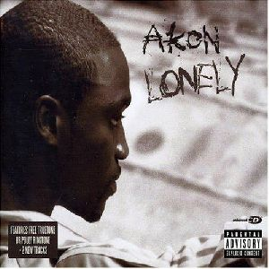 AKON : Akon - Lonely - CD cover