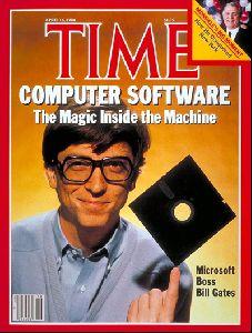 Bill Gates : TIME magazine 4 16 84