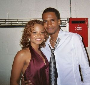 CHRISTINA MILIAN : Milian and Singer-Actor Eric West