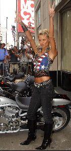 Heidi Klum : heidi klum biker 5 big