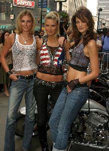 Heidi Klum : heidi klum biker big
