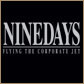 Nine Days - Flying The Corporate Jet album cover