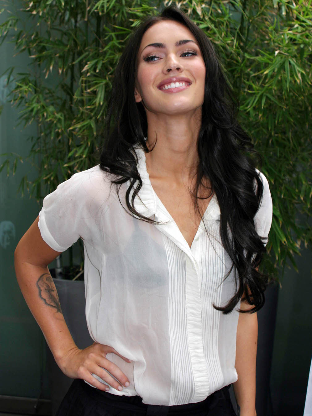 Vote for this picture Megan Fox see through shirt pictures
