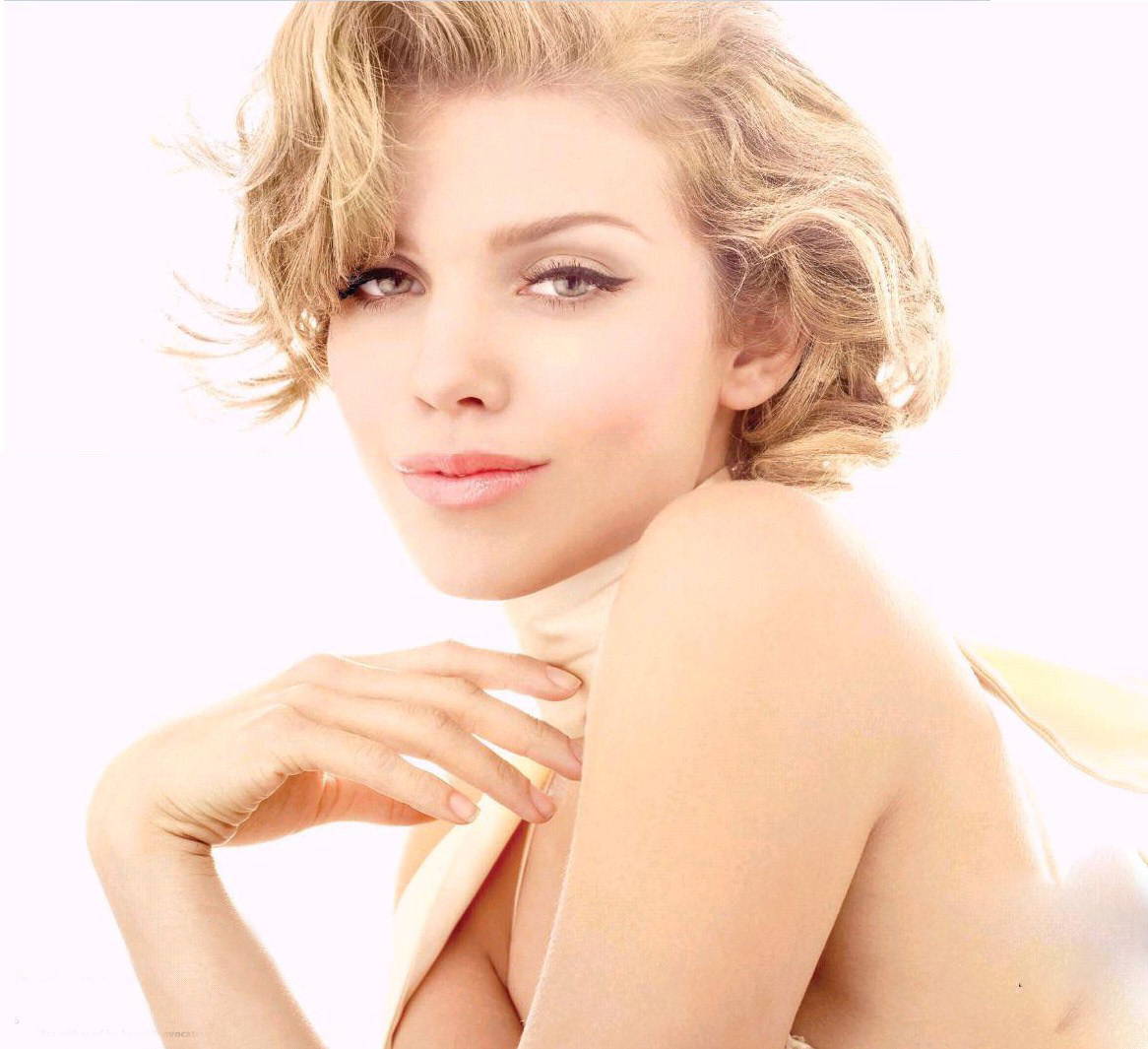 AnnaLynne McCord : large poster for print magazine cover girl - wavy