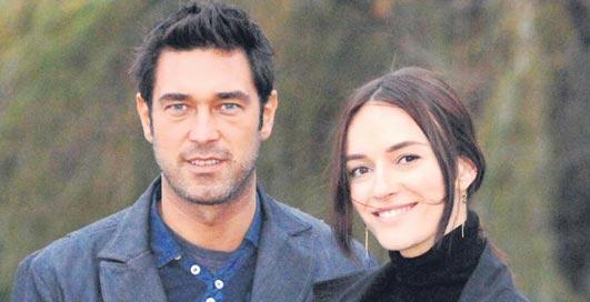 Burak Hakki and His Wife
