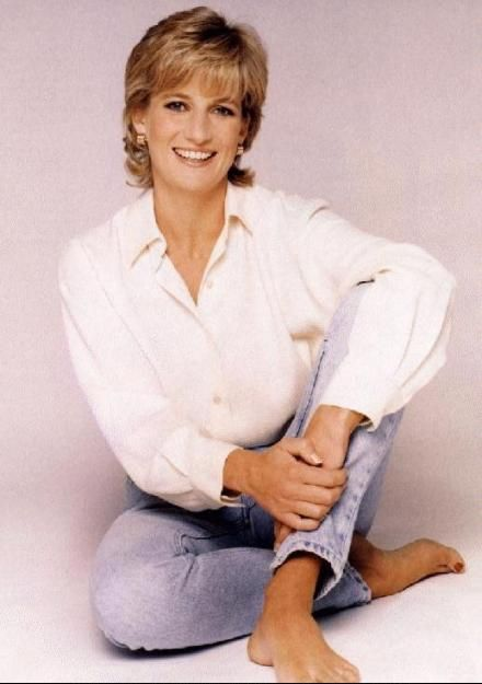 Hairstyle Princess Diana Spencer