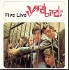 The Yardbirds - Five Live Yardbirds album cover