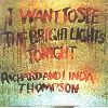 Richard Thompson I Want to See the Bright Lights Tonight album cover