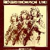 Richard Thompson Live More and Less album cover
