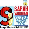 Sarah Vaughan You  re mine you album cover
