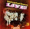The Temptations Temptations-live album cover