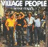 The Village People In the street 1983 album cover