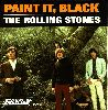 The Rolling Stones - Paint It Black album cover