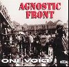 Agnostic Front - one voice album cover