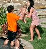Jayden James and Britney Spears in hawaii on February 23rd, 2006