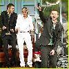 Justin Timberlake : Justin Timberlake with Ellen DeGeneres