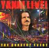 Yanni the concert event album cover